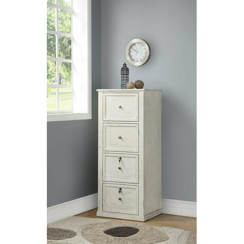 Parker House - HILTON 4 Drawer Tall File Cabinet