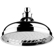 "City Bronze 8"" Skirted shower head"