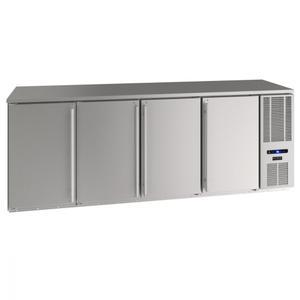 "U-Line92"" Back Bar Refrigeration With Stainless Solid Finish (115 V/60 Hz Volts /60 Hz Hz)"