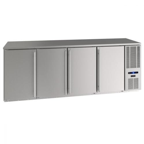 "U-Line - 92"" Back Bar Refrigeration With Stainless Solid Finish (115 V/60 Hz Volts /60 Hz Hz)"