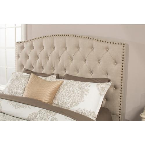 Lila Queen Bed - Linen Sandstone