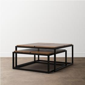 Bench*Made Midtown Square Nesting Cocktail Tables