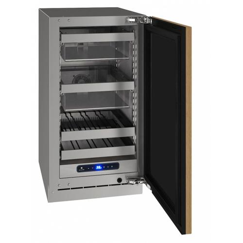 "Hbv518 18"" Beverage Center With Integrated Solid Finish and Field Reversible Door Swing (115 V/60 Hz Volts /60 Hz Hz)"