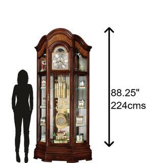 See Details - Howard Miller Majestic II Grandfather Clock 610939
