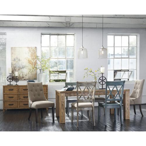 Signature Design By Ashley - Mestler - Multi Set Of 2 Dining Room Chairs