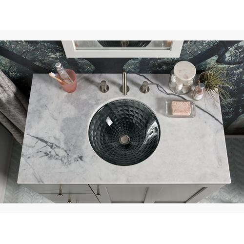 Translucent Doe Undermount Bathroom Sink