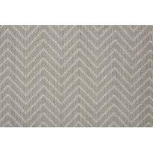 Lustrous Chevron Chvr Alloy Broadloom Carpet