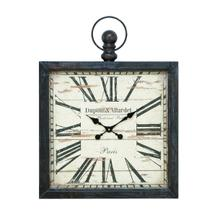 "MTL WALL CLOCK 32""H, 24""W"