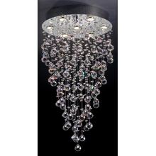 See Details - Crystal Ceiling Lamp, Chrome/crystals, Type Gu10 50wx7