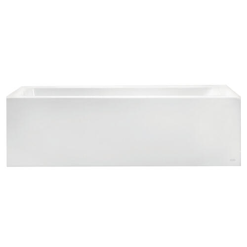 Studio 60x32-inch Bathtub - Above Floor Rough with Built-In Apron - Left Drain  American Standard - White
