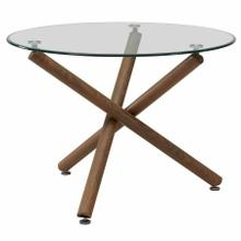 See Details - Rocca Round Dining Table in Walnut