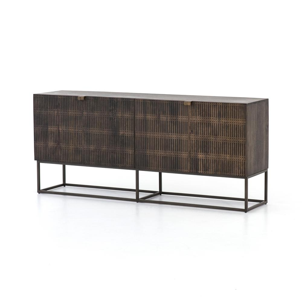 See Details - Kelby Sideboard-carved Vintage Brown
