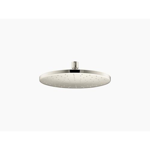 """Vibrant Polished Nickel 10"""" 1.75 Gpm Rainhead With Katalyst Air-induction Technology"""