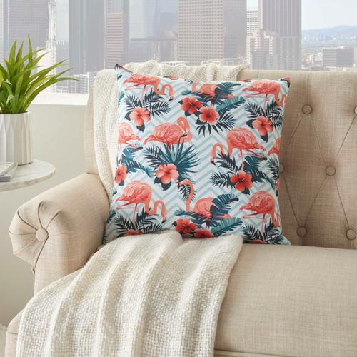 "Life Styles Ss915 Multicolor 18"" X 18"" Throw Pillow"