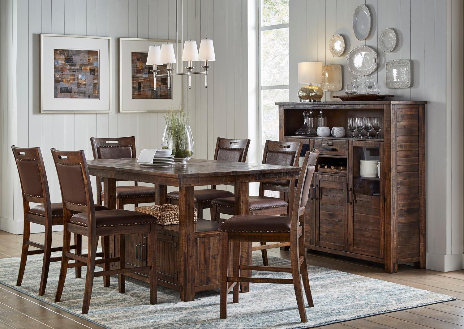 JofranCannon Valley High/low Table W/(6) Stools
