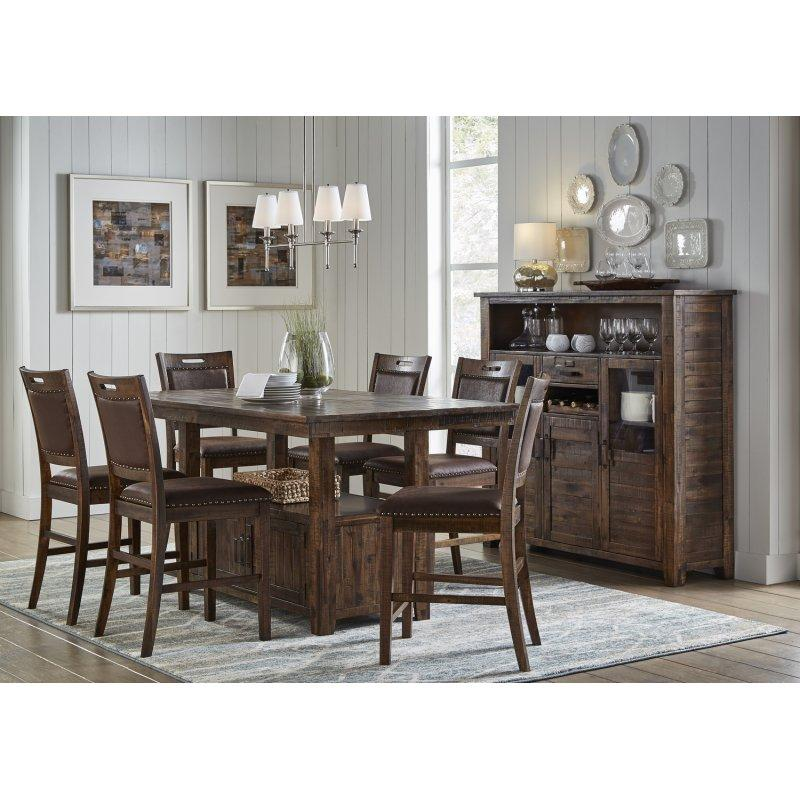 Cannon Valley High/low Table W/(6) Stools