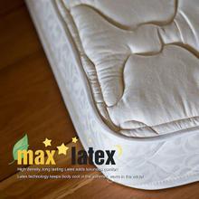 Max Latex Mattress- Twin