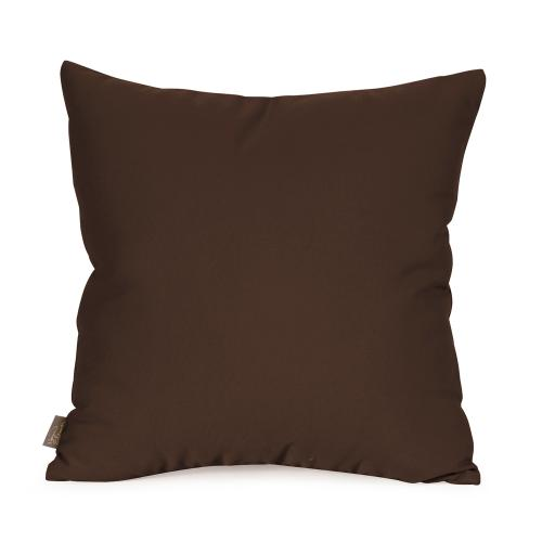 """Patio Pillow Cover 16""""x16"""" Seascape Chocolate (Cover Only)"""