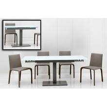 View Product - Modrest Taste - Extendable Modern Dining Table