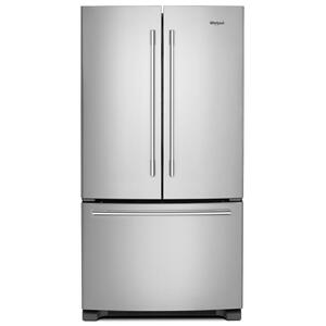 Whirlpool36-inch Wide French Door Refrigerator with Crisper Drawer - 25 cu. ft.