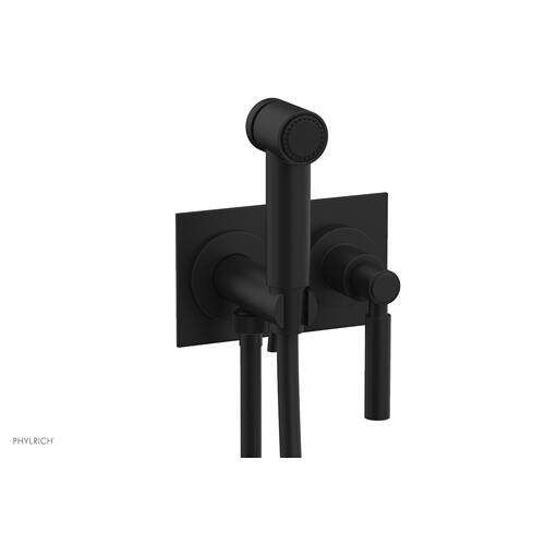 BASIC Wall Mounted Bidet, Lever Handle 130-65 - Matte Black