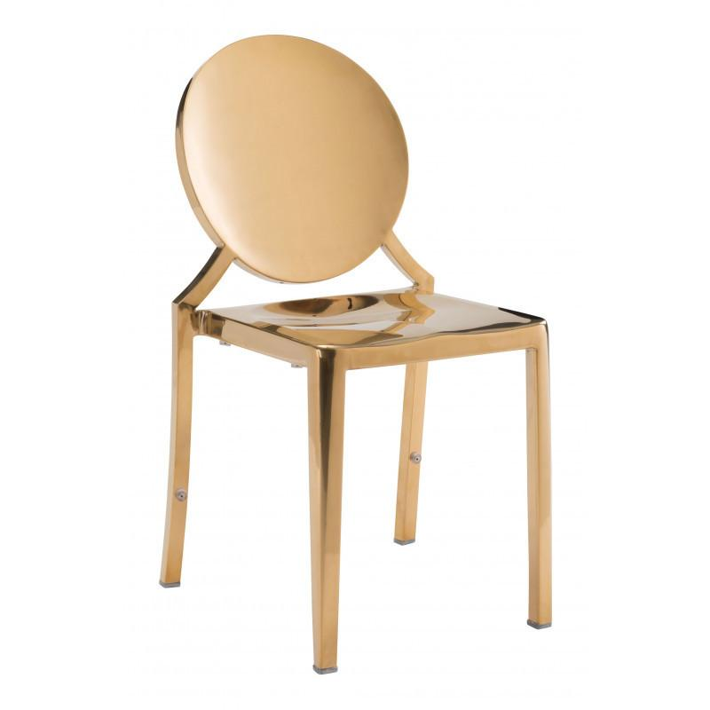 See Details - Eclipse Dining Chair Gold