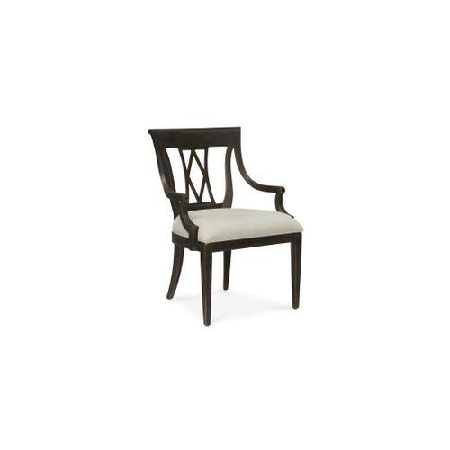 Bassett Furniture - Woodridge Wood Back Arm Chair