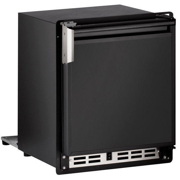 """U-Line15"""" Crescent Ice Maker With Black Solid Finish (230 V/50 Hz Volts /50 Hz Hz)"""