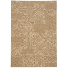 "Metropolis-Sojourn Portico Beige - Rectangle - 3'11"" x 5'6"""