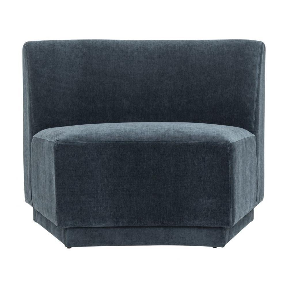 See Details - Yoon Slipper Chair Dusty Blue