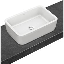 View Product - Architectura Surface-mounted bathroom sink (rectangular) Rectangle 4127U6 - Villeroy & Boch - White Alpin