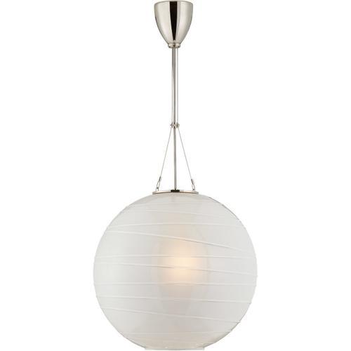 Alexa Hampton Hailey 1 Light 18 inch Polished Nickel Pendant Ceiling Light