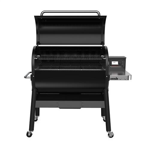 SmokeFire EX6 Wood Fired Pellet Grill - Black