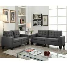 ACME Earsom Sofa - 52770 - Gray Linen