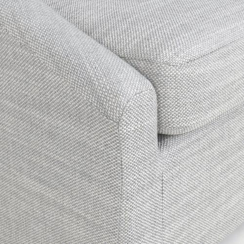 Classic Home - Monticello Swivel Accent Chair Grey