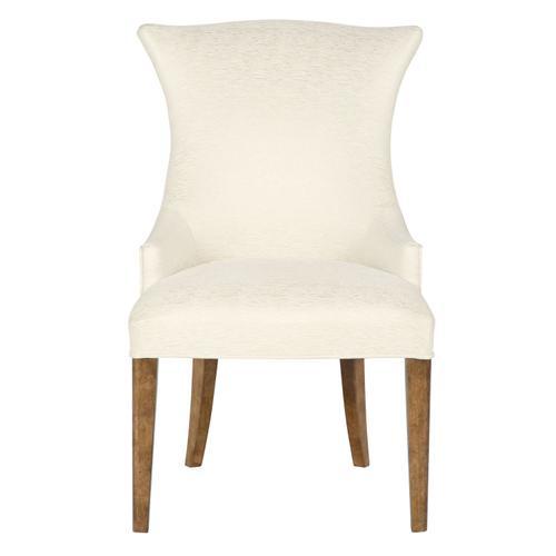 Soho Luxe Upholstered Arm Chair in Dark Caramel (368)