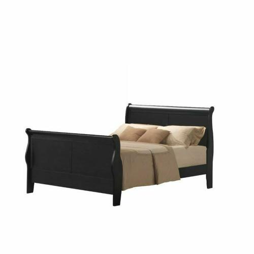 ACME Louis Philippe III Queen Bed - 19500Q - Black
