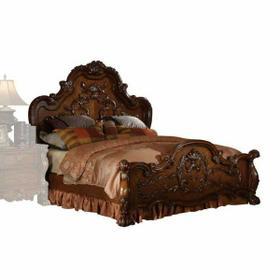 ACME Dresden Eastern King Bed - 12137EK - Cherry Oak