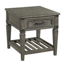 See Details - Foundry End Table