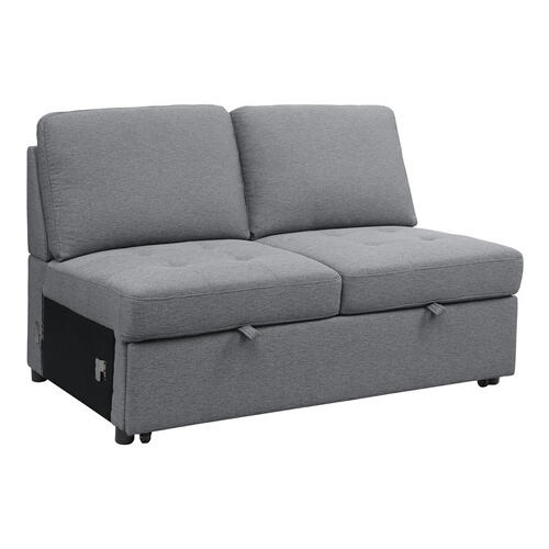 Gallery - Armless 2-Seater with Pull-Out Bed