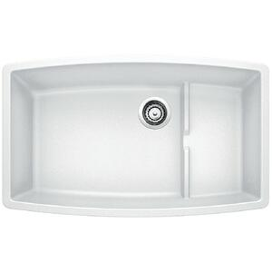 Performa Cascade Super Single Bowl - White