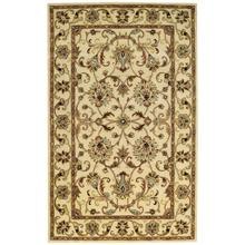"Eloquent Garden Antique Ivory - Rectangle - 2'6"" x 3'6"""