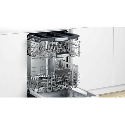 800 Series Dishwasher 24'' Black SHEM78Z56N