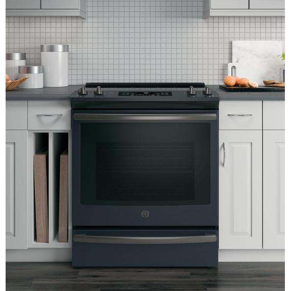 "GE Appliances - GE® 30"" Slide-In Electric Convection Range"