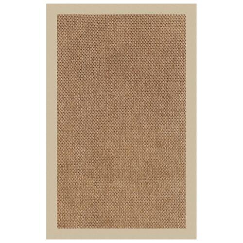 "Capel Rugs - Islamorada-Basketweave Canvas Antique Beige - Rectangle - 24"" x 36"""