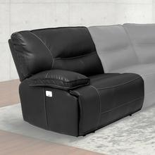 View Product - SPARTACUS - BLACK Power Left Arm Facing Recliner