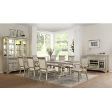 Gracie Dining Table/ 4 Side Chairs