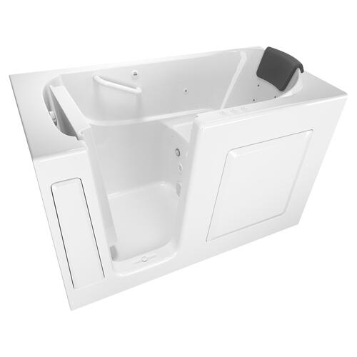 Premium Series 30x60 Combo Massage Walk-in Tub, Left Drain  American Standard - White