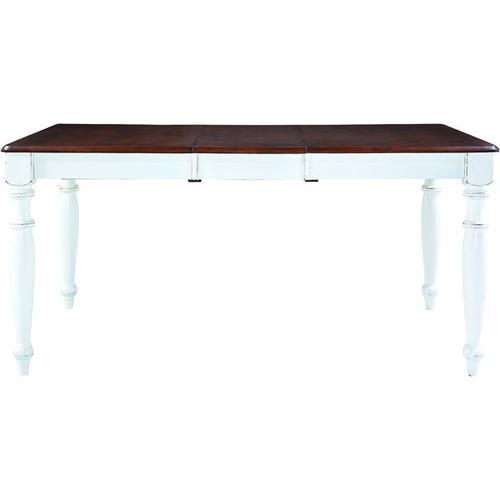 Gallery - Extension Table in Espresso & Alabaster