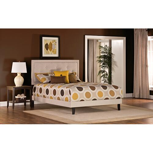 Gallery - Becker Full Bed Set - Cream Fabric